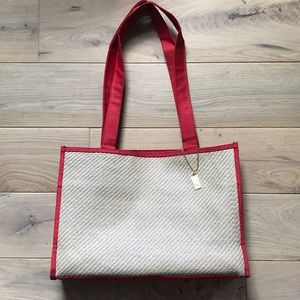 YSL | Authentic Woven Straw Bag